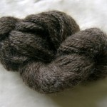 Dark Grey English Leicester - 12 ply
