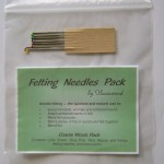felting needle pack - coarse wools