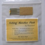 felting needle pack - fine wools
