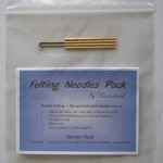 felting needle pack - starter