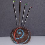 felting needles- $2.50